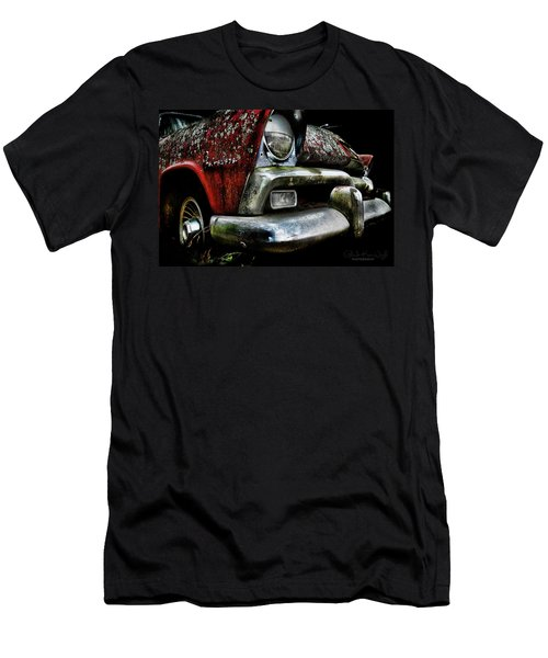 Red Plymouth Belvedere Men's T-Shirt (Athletic Fit)