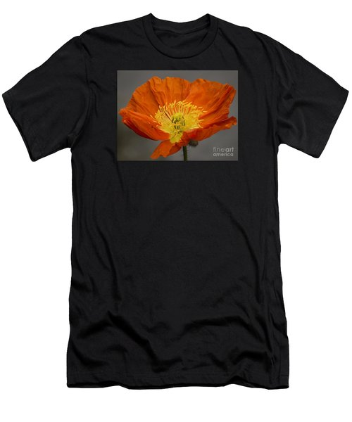Red Poppy II Men's T-Shirt (Athletic Fit)