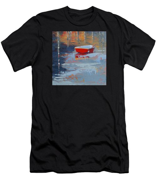 Red Reflections Men's T-Shirt (Athletic Fit)