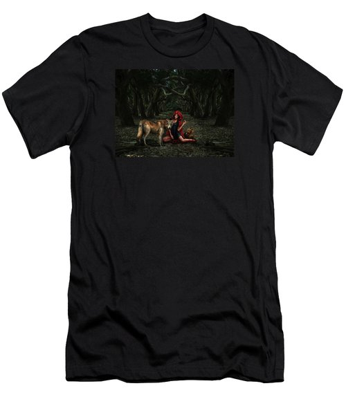 Red Riding Hood Men's T-Shirt (Athletic Fit)