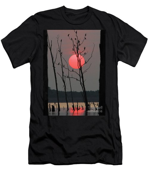 Red Rise Cormorants Men's T-Shirt (Athletic Fit)