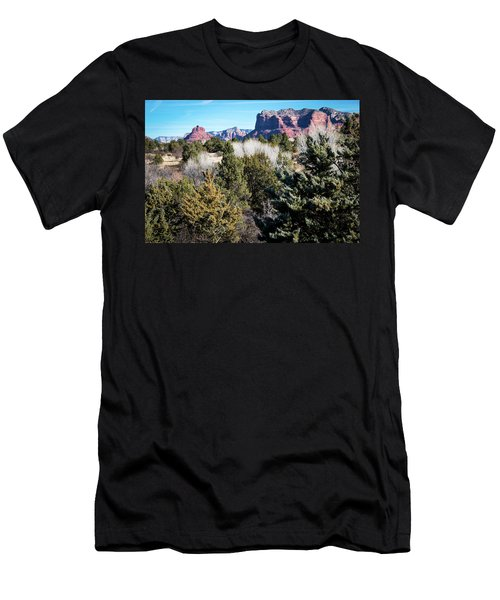 Red Rock Country Men's T-Shirt (Athletic Fit)