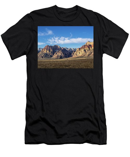 Red Rock Morning Men's T-Shirt (Athletic Fit)
