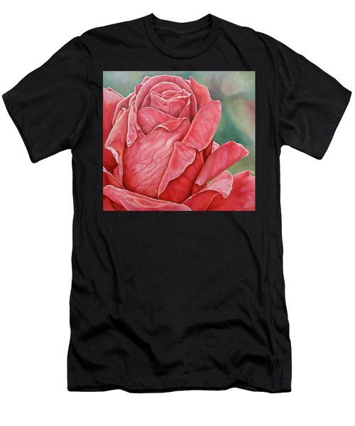 Red Rose 93 Men's T-Shirt (Athletic Fit)