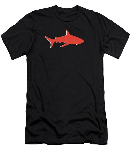 Red Shark Men's T-Shirt (Athletic Fit)
