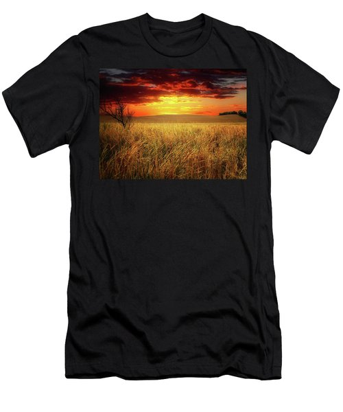 Red Skies Men's T-Shirt (Athletic Fit)