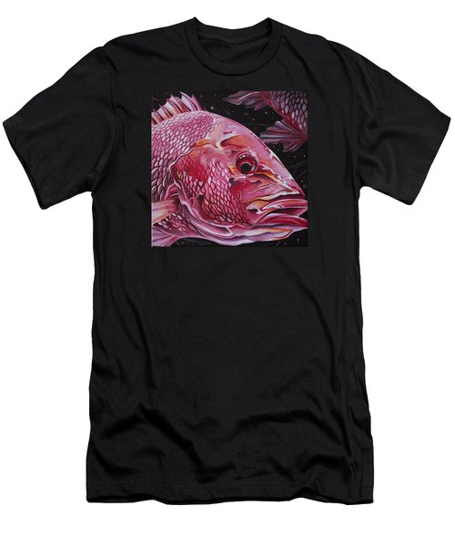 Red Snapper Men's T-Shirt (Athletic Fit)