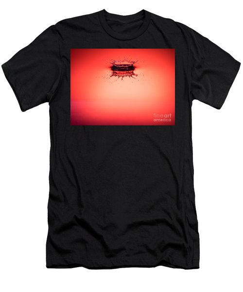 Red Splashdown 2 Men's T-Shirt (Athletic Fit)