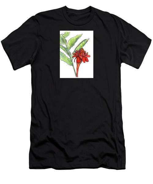 Red Torch Ginger Men's T-Shirt (Athletic Fit)
