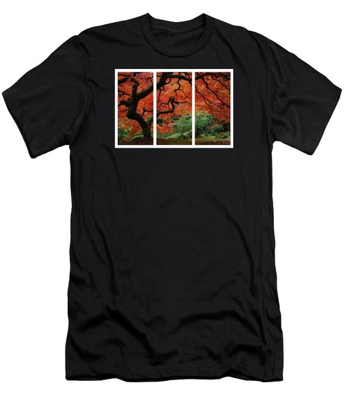 Red Tree Men's T-Shirt (Slim Fit) by James Roemmling