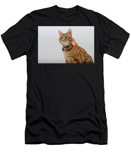 Red Tubby Cat Tabasco Pet Men's T-Shirt (Athletic Fit)