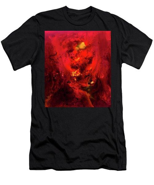 Red Universe Men's T-Shirt (Athletic Fit)