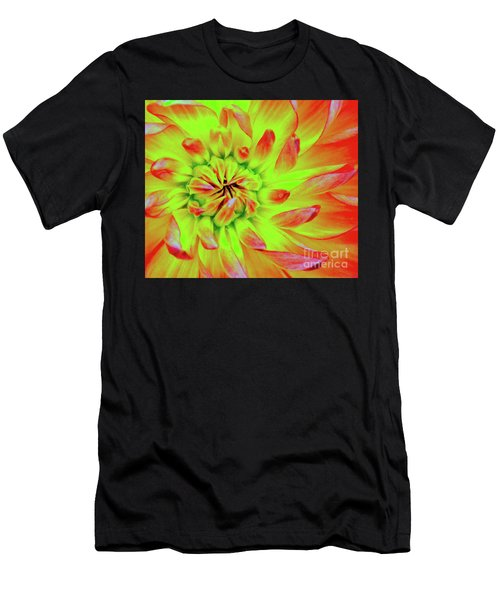 Red Whirl Men's T-Shirt (Athletic Fit)