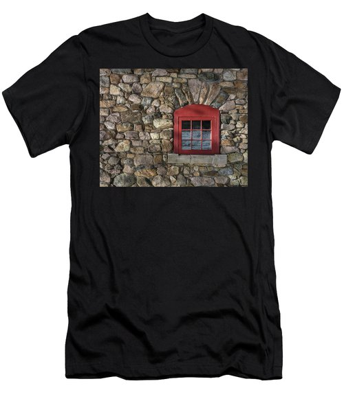 Red Window Men's T-Shirt (Athletic Fit)