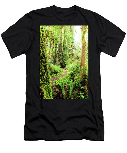 Red Woods Trail Men's T-Shirt (Athletic Fit)