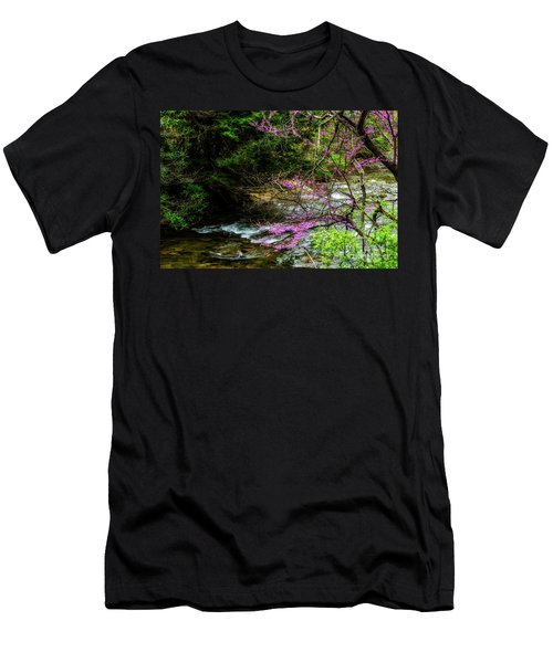 Redbud And River Men's T-Shirt (Athletic Fit)