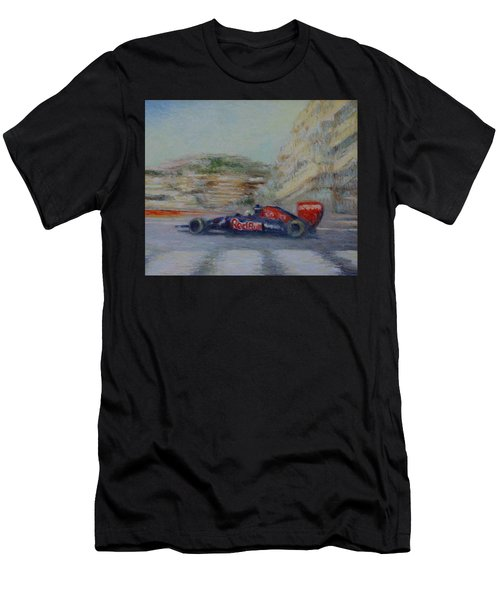 Redbull Racing Car Monaco  Men's T-Shirt (Athletic Fit)