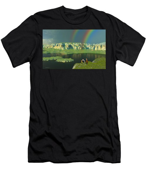 Redemption For An Angry Sky Men's T-Shirt (Athletic Fit)