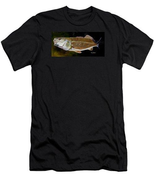 Redfish Study  Men's T-Shirt (Slim Fit) by Phyllis Beiser