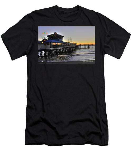 Redondo Pier North Men's T-Shirt (Athletic Fit)