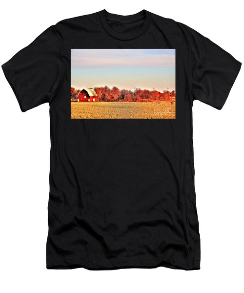 Reds And Oranges Men's T-Shirt (Athletic Fit)