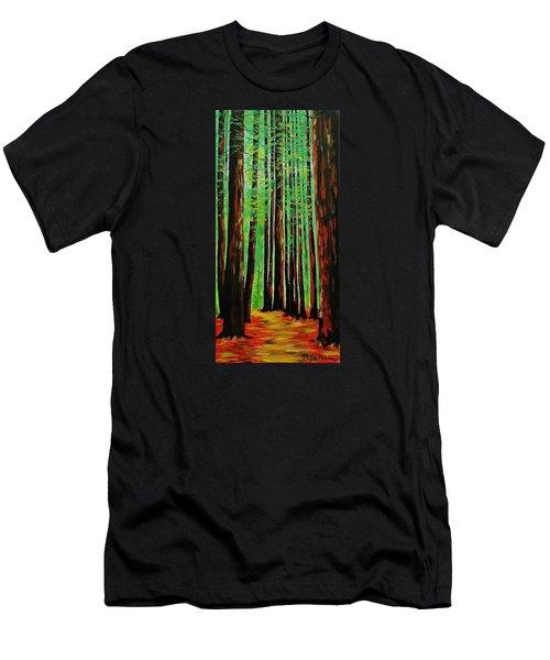 Redwoods Majestic 2 Men's T-Shirt (Athletic Fit)