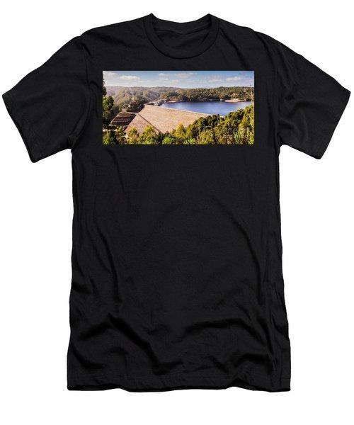 Reece Dam, Western Tasmania Men's T-Shirt (Athletic Fit)