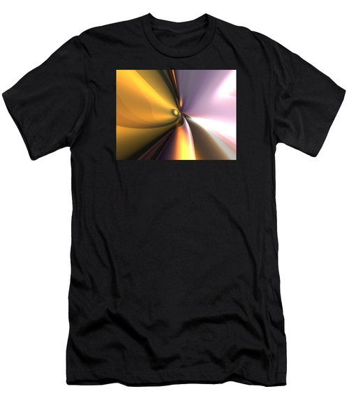 Men's T-Shirt (Athletic Fit) featuring the digital art Reflect by Darren Cannell