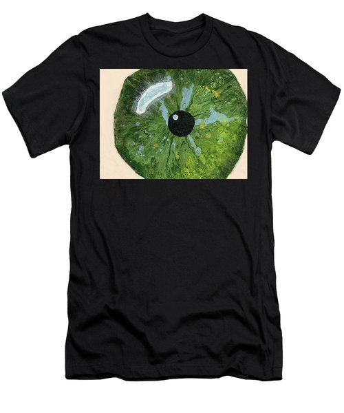 Reflected In The Eye Of A Child Never Born Men's T-Shirt (Athletic Fit)