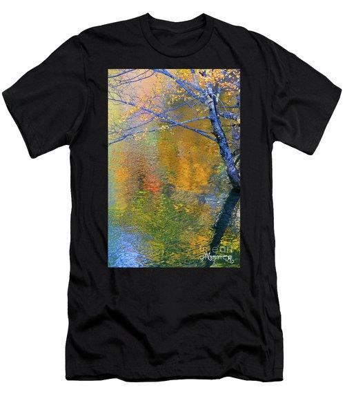 Reflecting Autumn Men's T-Shirt (Athletic Fit)