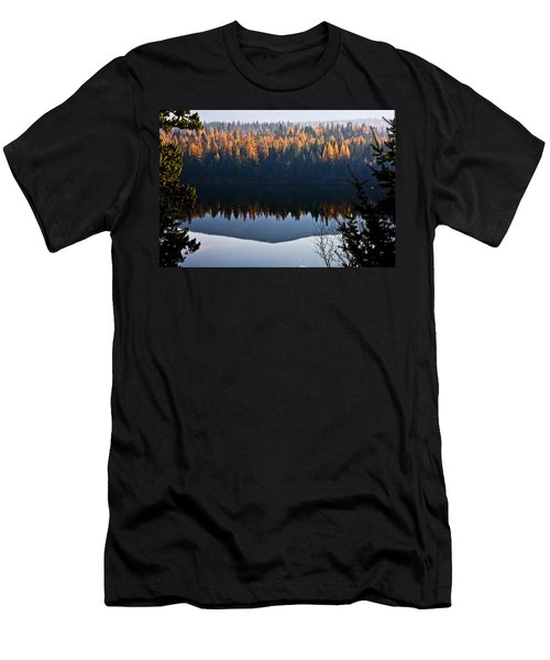 Reflecting On Autumn Men's T-Shirt (Athletic Fit)