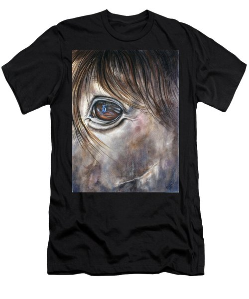 Reflection Of A Painted Pony Men's T-Shirt (Athletic Fit)