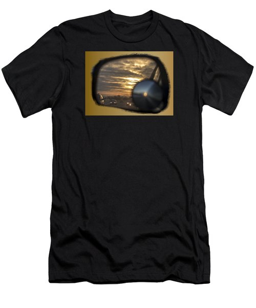 Reflection Of A Sunset Men's T-Shirt (Athletic Fit)