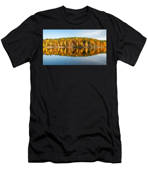 Reflection Of Autumn Men's T-Shirt (Athletic Fit)