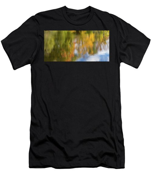 Reflection Of Fall #1, Abstract Men's T-Shirt (Athletic Fit)