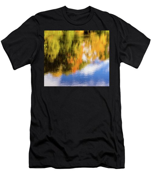 Reflection Of Fall #2, Abstract Men's T-Shirt (Athletic Fit)
