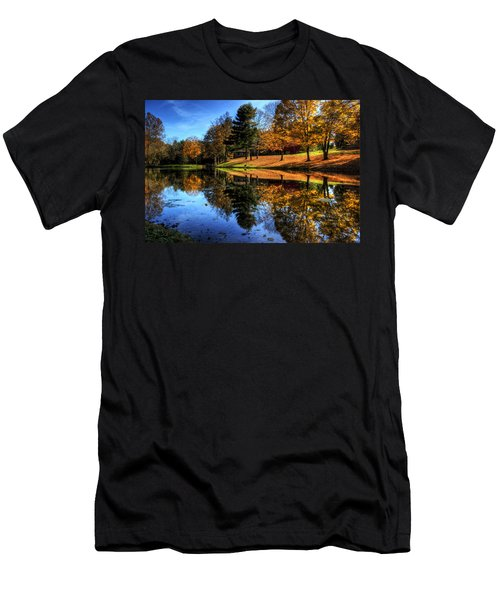 Reflection Of Northeast Ohio Fall Men's T-Shirt (Athletic Fit)