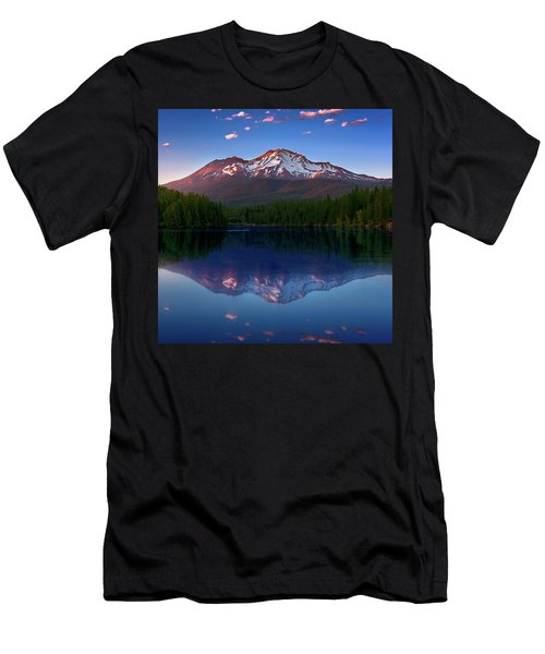 Men's T-Shirt (Athletic Fit) featuring the photograph Reflection On California's Lake Siskiyou by John Hight