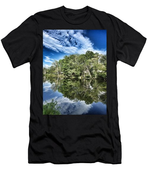 Reflection Time Men's T-Shirt (Athletic Fit)