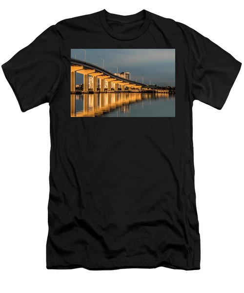 Reflections And Bridge Men's T-Shirt (Athletic Fit)