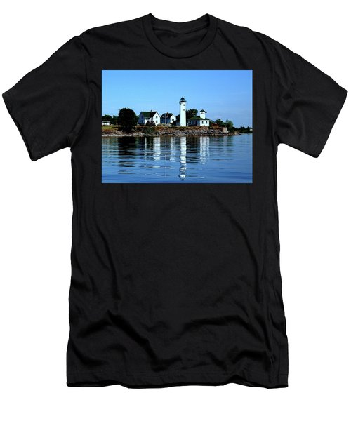 Reflections At Tibbetts Point Lighthouse Men's T-Shirt (Athletic Fit)