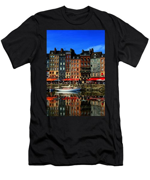 Reflections Honfleur France Men's T-Shirt (Athletic Fit)