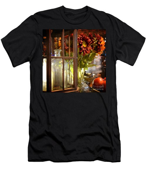 Reflections In A Glass Bottle Men's T-Shirt (Athletic Fit)