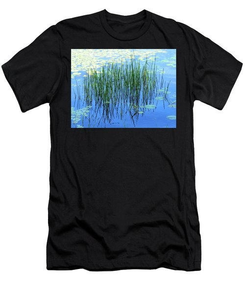 Reflections In The Bay Men's T-Shirt (Athletic Fit)