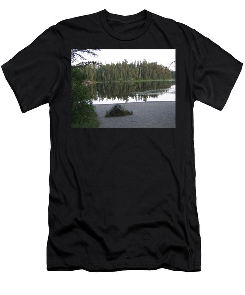 Reflections Lake 1 Men's T-Shirt (Athletic Fit)