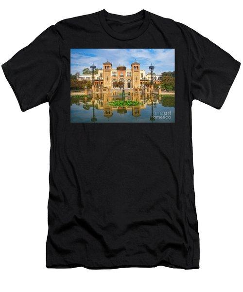Reflections - Maria Luisa Park Men's T-Shirt (Athletic Fit)