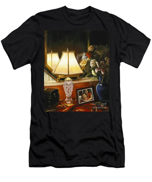 Reflections Men's T-Shirt (Slim Fit) by Marlene Book
