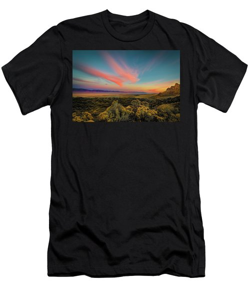 Reflections Of A Sunset Unseen Men's T-Shirt (Athletic Fit)