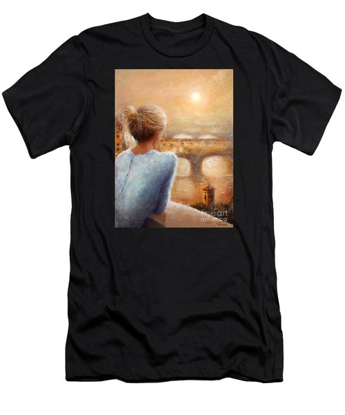 Reflections Of Florence Men's T-Shirt (Athletic Fit)