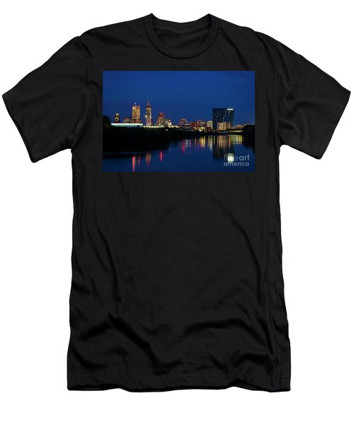 Men's T-Shirt (Slim Fit) featuring the photograph Reflections Of Indy - D009911 by Daniel Dempster